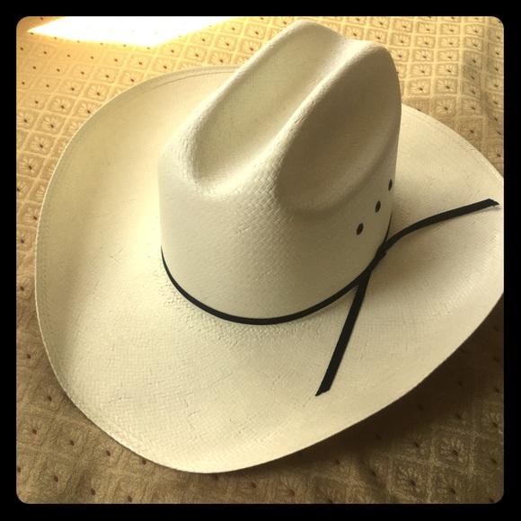 362667dc696 NEW Stallion by Stetson Straw Cowboy hat